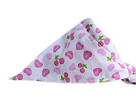 PANDA SUPERSTORE 2 Pieces Fashionable Cute Pets Triangle Scarves/Headscarf, Pink