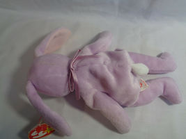 """TY Beanie Babies 1996 Lavender Bunny Floppity 8"""" w/ Hang Tag 5/23/96 image 7"""