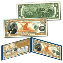 1882 Series James Garfield $20 Gold Certificate designed on a Real $2 Bill - $13.98