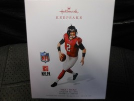 "Hallmark Keepsake ""Matt Ryan - Atlanta Falcons"" 2018 Ornament 24th in Se... - $8.37"
