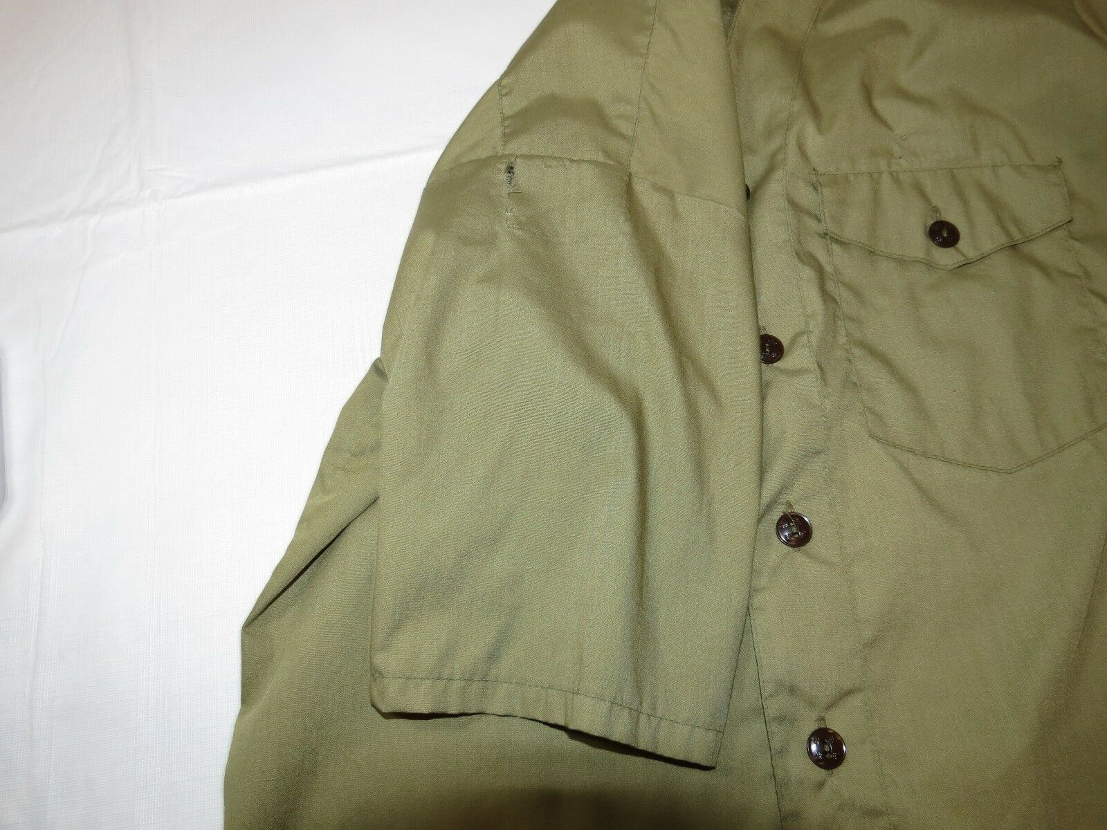 Boy Scouts of America Official Shirt boys youth short sleeve button up shirt image 7