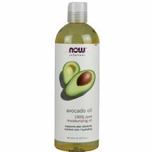 NOW FOODS 100% Pure Avocado Oil 16 oz Moisturizing Oil Support Skin Elas... - $38.86