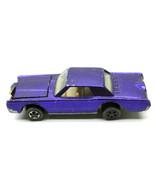 Original 1969 Hot Wheels Redline Custom Continental Mark 3 Diecast Car M... - $79.46