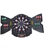 Electronic Dartboard Set 27 Games W/ Sound LED Digital Score Display Fun... - $89.64
