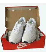 Nike Air Max 90/1, White/Metalic Gold-Black, Size 7.5, New in Box, 2018 - $197.77
