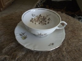Winterling Empress Platinum cup and saucer 4 available - $3.12
