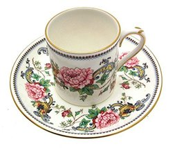 Crown Staffordshire Chelsea Manor Coffee Cup & Saucer - $44.58