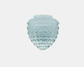 "Westinghouse LAMP SHADE Acorn Clear Glass Textured Globe 1 pk 5.5"" H 856... - $18.87"