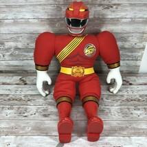 Power Rangers Red Ranger Practice Pal Bandai 2001 Talking Plush - $24.70
