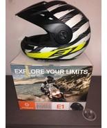 ☆ Schuberth E1 Hunter Motorcycle Helmet MEDIUM MED M DOT 4449 Street Road ☆ - $375.00