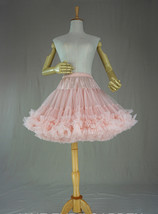 Women Girl Tiered Tutu Skirt Outfit Plus Size Puffy Party Tutu Skirt Blush Pink  image 7