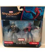 Marvel Legends Spider-Man: Homecoming SPIDER-MAN & VULTURE Action Figure... - $17.19
