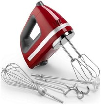 KitchenAid 9-Speed Digital Display Hand Mixer Empire Beautiful Red - Wit... - €134,76 EUR