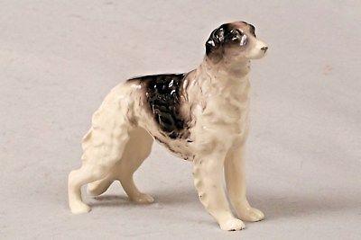 "Vintage Borzoi Russian Wolfhound Dog Ceramic Ucagco Japan Figure Figurine 5.5"""