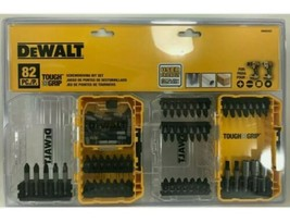 DEWALT Tough Grip 82-Piece Shank Drill Impact Bit Set DWA82SET With Case Multi - $29.95