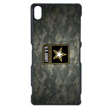 U.S. Army Sony C4 case Customized premium plastic phone case, design #1 - $11.87