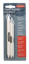 Derwent Paper Stump Tortillion Pack of 3 Sizes Blend Pencil Charcoal & P... - $4.87