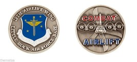 Little Rock Air Force Base 19TH Combat Airlift Wing Challenge Coin - $14.89
