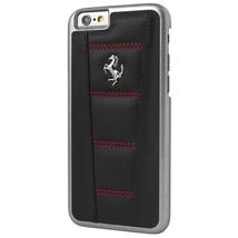 """Official Ferrari iPhone 6/6S 4.7"""" 458 Signature Leather Case Black / Red - $49.47"""