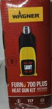 Wagner 0503086 Furno 700 Plus Heat Gun 117 Settings Kit Corded New in Box image 5