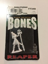 Avatar of Sekhmet 77340 - Dark Heaven Bones - Reaper Miniatures D&D Warg... - $2.39