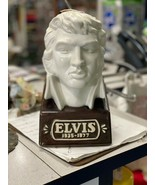 Vintage 1977 Elvis Presley Bust McCormick Whiskey Decanter - $55.00