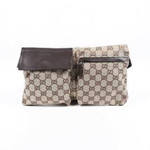 Gucci Original GG Monogram Canvas Belt Bag - $540.00