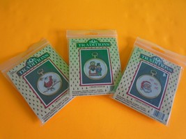 3 Mini Tradition Counted Cross Stitch Kits New. Ship Fast - $10.39