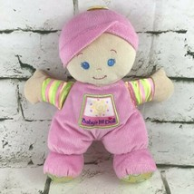 Fisher Price Babys First Doll Plush Pink Soft Stuffed Crib Toy Mattel 2008 - $11.88