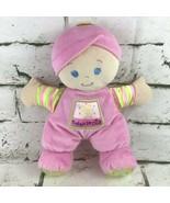 Fisher Price Babys First Doll Plush Pink Soft Stuffed Crib Toy Mattel 2008 - $11.88