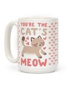 YOU'RE THE CAT'S MEOW COFFEE MUG   DECORATION MUG GIFT FOR LOVE - $11.54