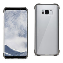 Reiko Samsung Galaxy S8 Edge/ S8 Plus Clear Bumper Case With Air Cushion... - $10.62
