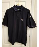 VTG Puma LA Rams Long Sleeve Polo Shirt Polyester Los Angeles Men's medi... - $11.20