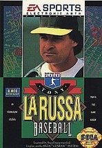 Tony La Russa Baseball (Sega Genesis, 1993) - $1.48