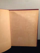 Vintage 50s rope bound scrapbook covers with some blank pages inside image 2