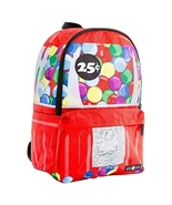 Space Junk Large Red Gumball Backpack NEW NWT - $89.99