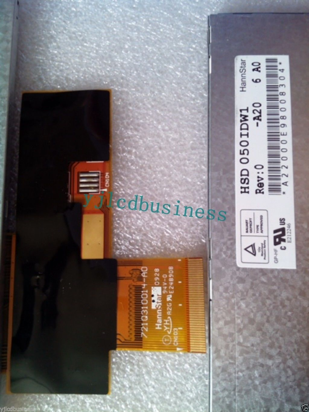 """HSD050IDW1-A20 NEW HannStar 5.0"""" LCD display with touch screen for GPS"""