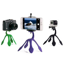Mini Tripod Mount Portable Flexible Stand Holder for iPhone Smartphone G... - $10.83