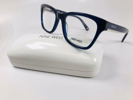 New Nine West NW5124 434 Crystal Navy Eyeglasses 51mm with Case - $44.50