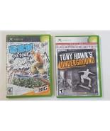 SSX On Tour (Microsoft Xbox, 2005) & Tony Hawks Underground (2003) - $9.89