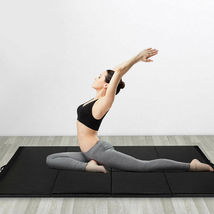 "Goplus 4'x10'x2"" Gymnastics Mat Folding Panel Gym Fitness Exercise Mat B... - $124.99"