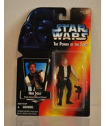 Star Wars Power of the Force Han Solo Red Card Heavy Assault Rifle & Bla... - $3.30