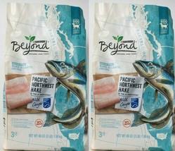 (2) Purina Beyond Grain Free Pacific Northwest Hake & Lentil Recipe Food 48 Oz - $29.69