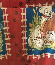 DISNEY 101 Dalmatians 1 Curtain Panel  Decor 80x63 Vintage Made in USA - $19.80