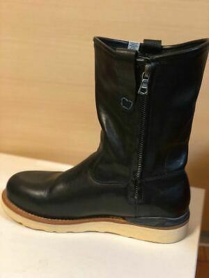 FIL limited 1st model visvim WABANAKI BOOTS-FOLK US8 BLACK Pecos boots image 7