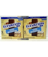 Two pack: Millville Elevation Protein Bars Carb Conscious Coconut Almond x2 - $21.00