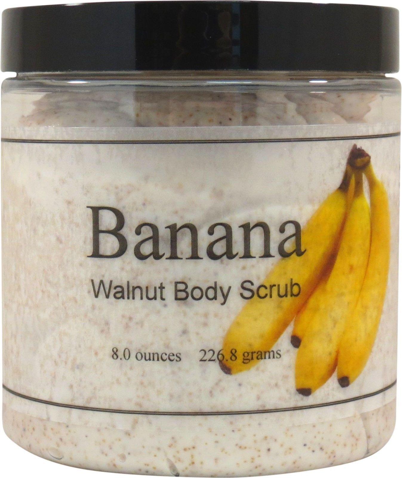 Banana Walnut Body Scrub