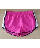 B Sport Ladies Short Shorts Size Large Pink/ White/Black - $12.87
