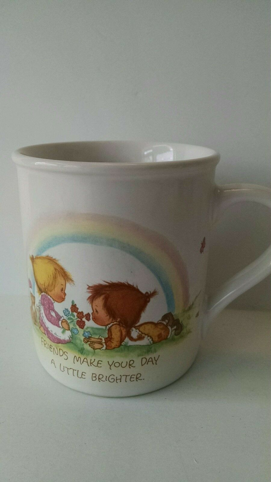 Primary image for Vintage Hallmark Mug Mates Collectible Coffee Mug 1983 Made in Japan Friends 8oz