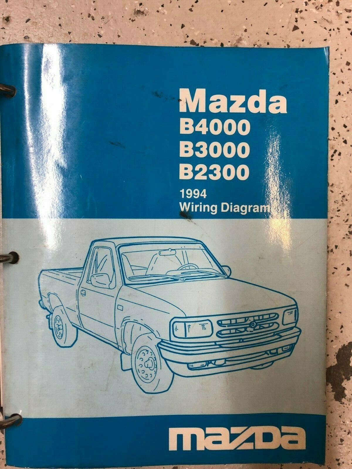 1994 Mazda B Series B2300 B3000 B4000 Pickup And 50 Similar Items